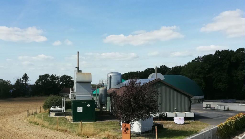 Die Biogasanlage von Eberhard Hollmann fährt nach einem optimierten Fahrplan der e2m. Foto: Eberhard Hollmann/e2m